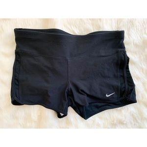 NIKE size large black shorts mesh